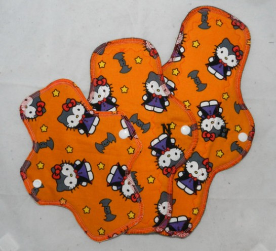 Hello Kitty Halloween pads