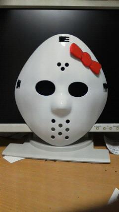 Hello Kitty Friday the 13th Jason mask