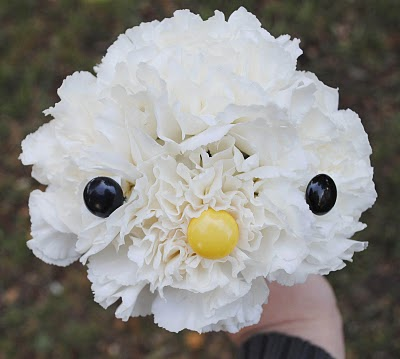 how to make a hello kitty flower