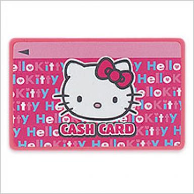Hello Kitty ATM Bank Cash Card