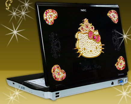 Hello Kitty NEC Laptop Computer – Hello Kitty Hell