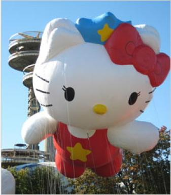 Hello Kitty Macys Parade Float