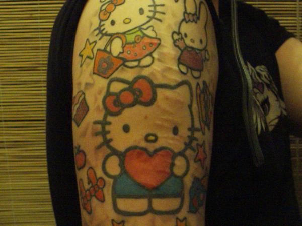 f69ca570d4544 Hello Kitty Tattoo Heart – Hello Kitty Hell