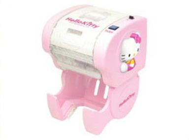 Hello Kitty toilet paper dispenser