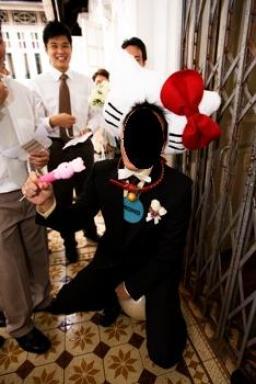 Hello Kitty Chinese wedding