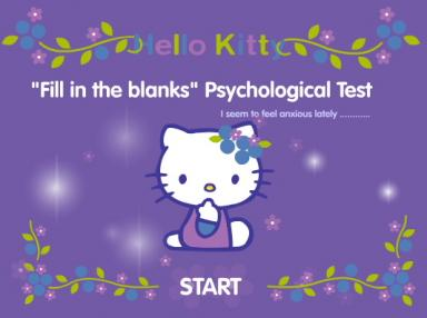 Hello Kitty Psycho test