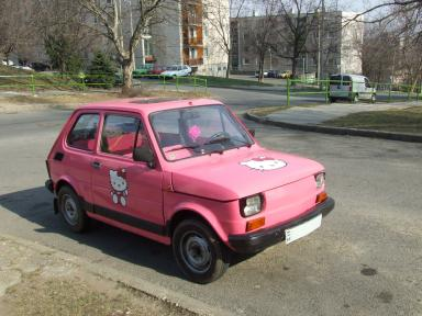Hello Kitty Fiat
