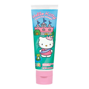 Hello Kitty toothpaste