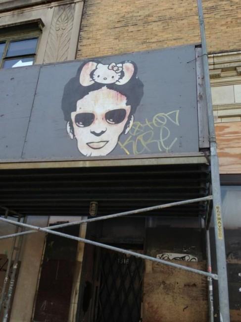 Hello Kitty urban grafitti