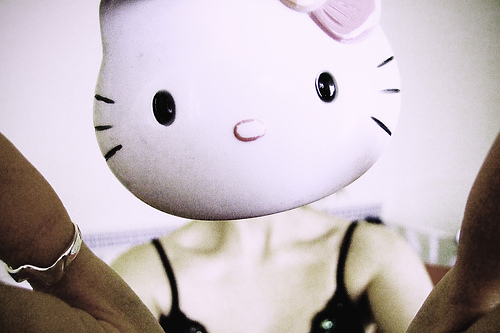 Hello Kitty nightmare photo