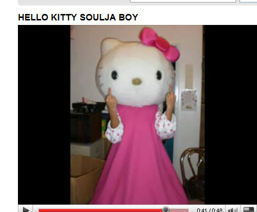 Hello Kitty true feelings