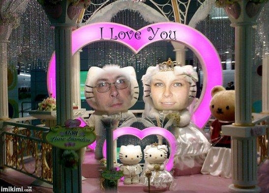 Hello Kitty love photo