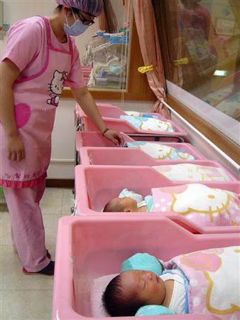 Hello Kitty hospital nursery