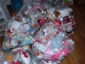 Hello Kitty plush giveaway