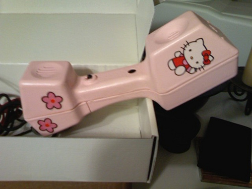 hello-kitty-linemans-handset