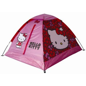 Hello Kitty pink camping tent