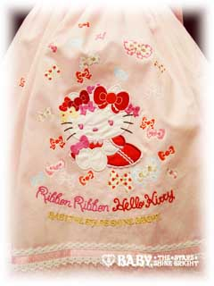 Hello Kitty Baby Doll Dress stitch