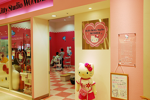 Hello Kitty Hair Salon