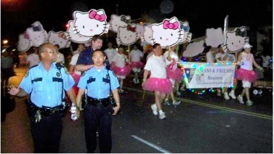 Hello Kitty demonstration march