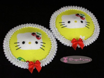 Hello Kitty cherry bow pasties