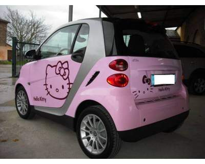 Hello Kitty smart car