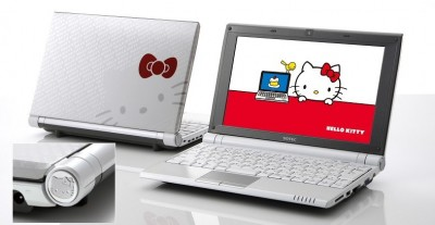 hello kitty netbook sotec