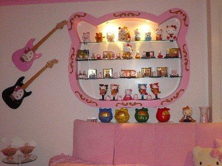 Hello Kitty Wall Display