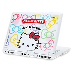 Hello Kitty 35 anniversary Epson laptop