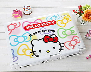 Hello Kitty Epson laptop