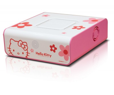 Hello Kitty nettop computer MiNew A10 drive