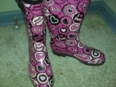 Hello Kitty rainboots