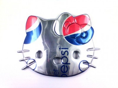 Hello Kitty Diet Pepsi necklace