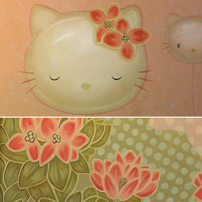 Hello Kitty Melissa Haslam art