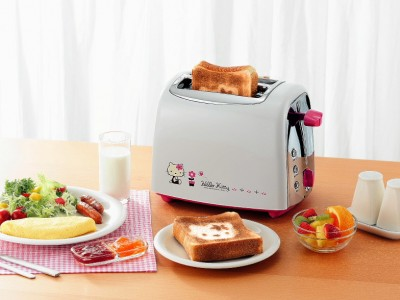 Hello Kitty star toaster