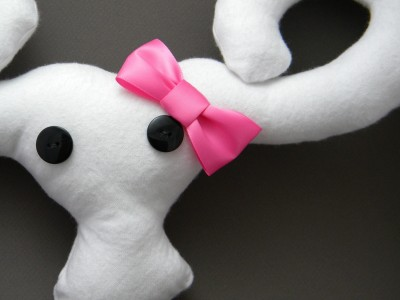 Hello Kitty uterus plush