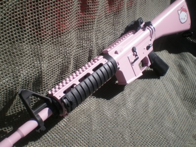 Hello Kitty AK47