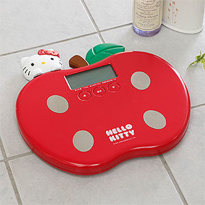 Hello Kitty apple digital scale