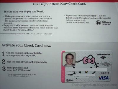Hello Kitty check card