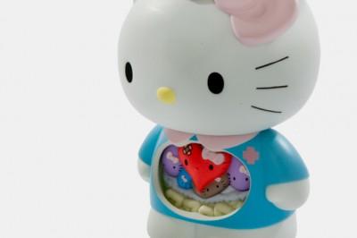Hello Kitty internal organs