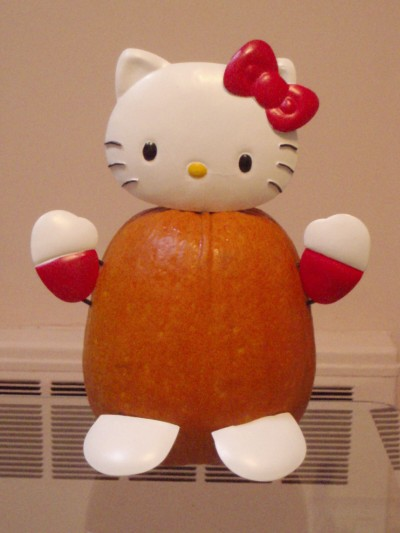 Hello Kitty 3D pumpkin