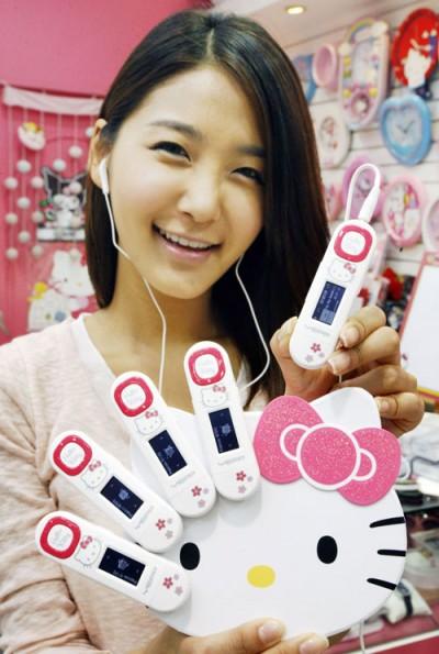 Hello Kitty Samsung media player