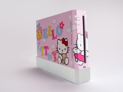 Hello Kitty Wii console