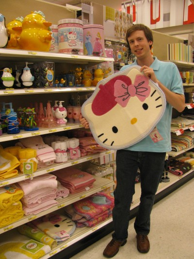 Hello Kitty bath mat