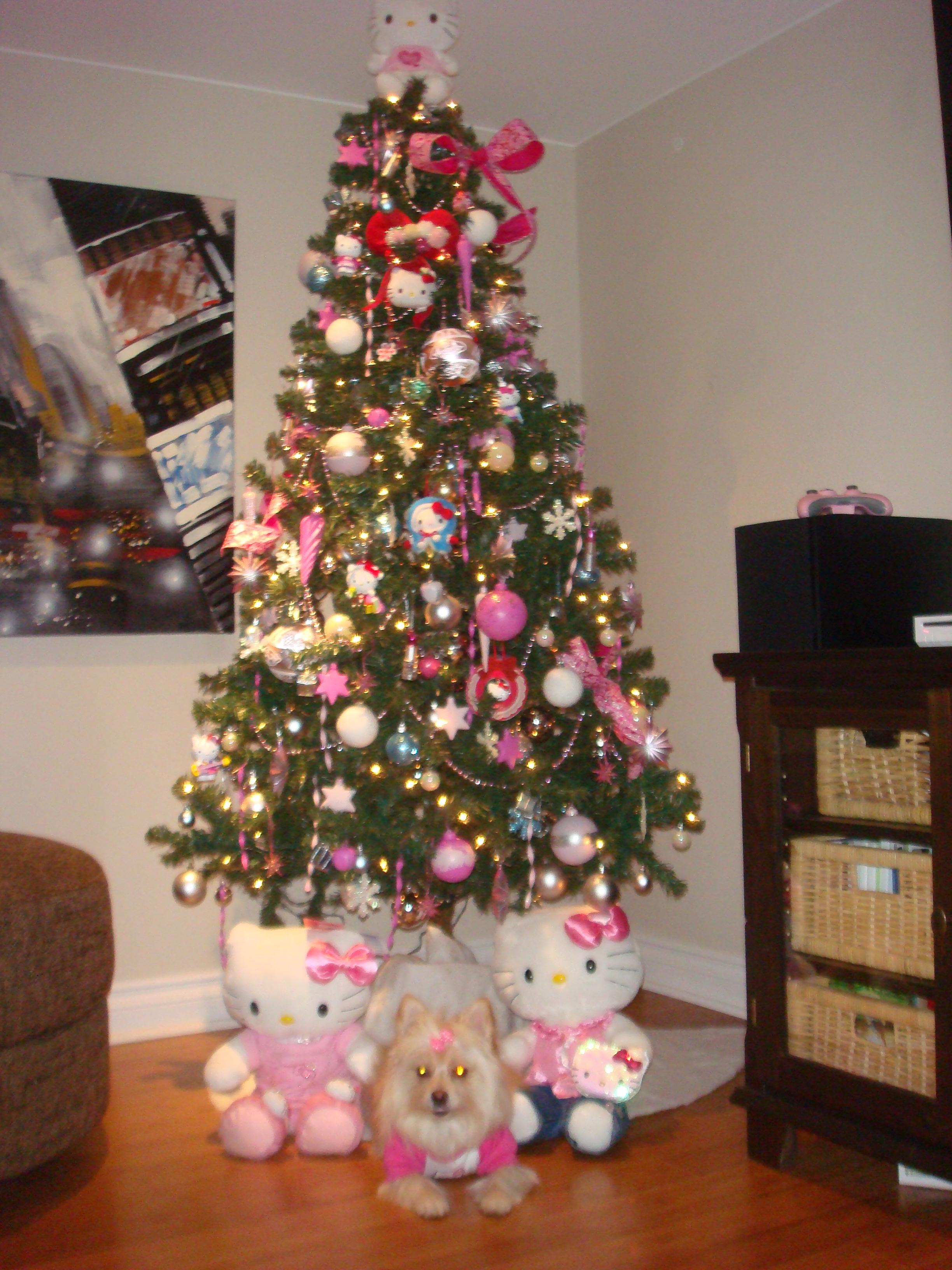 Hello Kitty Christmas Tree.Hello Kitty Xmas Tree Hello Kitty Hell