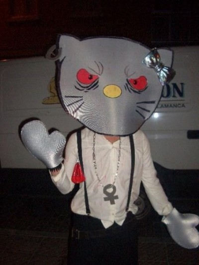 Hello Kitty scary costume