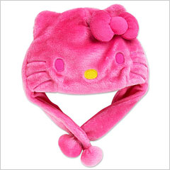 Hello Kitty snow hat