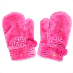 Hello Kitty mittens