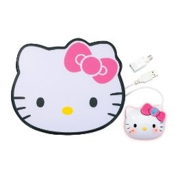 Hello Kitty optical mouse and mousepad