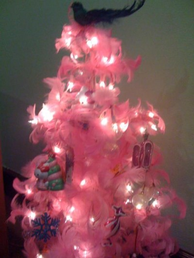 Hello Kitty pink xmas tree