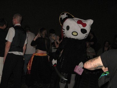 Hello Kitty pirate costume